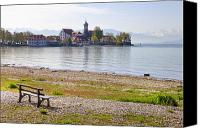 Lake Constance Canvas Prints - Wasserburg Canvas Print by Joana Kruse