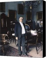 The White House Canvas Prints - WILLIAM McKINLEY (1843-1901): Canvas Print by Granger