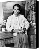 1957 Movies Canvas Prints - 310 To Yuma, Glenn Ford, 1957 Canvas Print by Everett