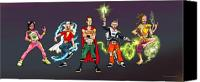 Super Heroes Canvas Prints - 311 Day 2003  Canvas Print by Brian Child