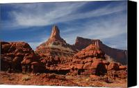 Red Rock Formations Canvas Prints - Canyonlands National PARK Canvas Print by Mark Smith