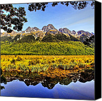 Featured Canvas Prints - Instagram Photo Canvas Print by Tommy Tjahjono