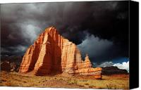 Southern Utah Canvas Prints - Capitol Reef National Park Canvas Print by Mark Smith