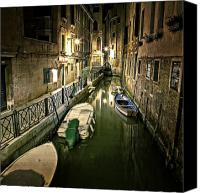 Venetian Canvas Prints - Venezia Canvas Print by Joana Kruse