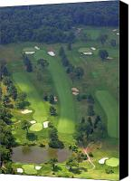 3rd Canvas Prints - 3rd Hole Sunnybrook Golf Club 398 Stenton Avenue Plymouth Meeting PA 19462 1243 Canvas Print by Duncan Pearson