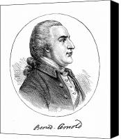 American Revolution Canvas Prints - Benedict Arnold (1741-1801) Canvas Print by Granger