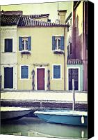 Door Canvas Prints - Burano Canvas Print by Joana Kruse