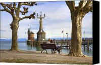 Lake Constance Canvas Prints - Constance Canvas Print by Joana Kruse
