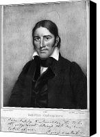 Senator Canvas Prints - Davy Crockett (1786-1836) Canvas Print by Granger
