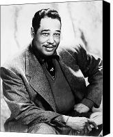 Hairstyle Photo Canvas Prints - Duke Ellington (1899-1974) Canvas Print by Granger