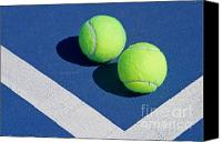 Fitness Ball Canvas Prints - Florida Gold Coast Resort Tennis Club Canvas Print by ELITE IMAGE photography By Chad McDermott