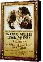 Margaret Canvas Prints - Gone With The Wind, 1939 Canvas Print by Granger