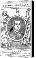 Colonial Man Canvas Prints - James Otis (1725-1783) Canvas Print by Granger