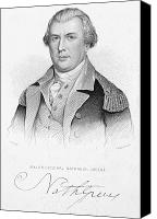 American Revolution Canvas Prints - Nathanael Greene Canvas Print by Granger