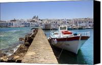 Dam Canvas Prints - Paros - Cyclades - Greece Canvas Print by Joana Kruse