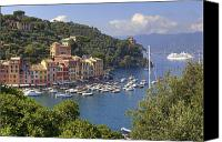 High Society Canvas Prints - Portofino Canvas Print by Joana Kruse