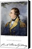 American Revolution Canvas Prints - Richard Montgomery Canvas Print by Granger