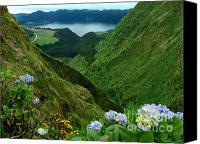 Azoren Canvas Prints - Sete Cidades - Azores Canvas Print by Gaspar Avila