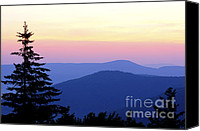 Solstice Canvas Prints - Summer Solstice Sunrise Canvas Print by Thomas R Fletcher