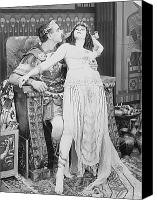 Empire Photo Canvas Prints - Theda Bara (1885-1955) Canvas Print by Granger