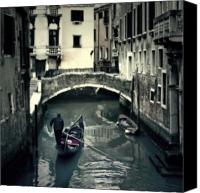 Tourist Attraction Canvas Prints - Venezia Canvas Print by Joana Kruse