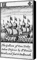 Valdes Canvas Prints - Spanish Armada, 1588 Canvas Print by Granger
