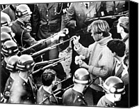 Anti-war Canvas Prints - 4867 Washington A Group Of Anti-vietnam Canvas Print by Everett