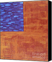 Contemporary Art Special Promotions - Abstract 1 Canvas Print by Patrick J Murphy