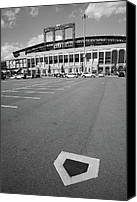 Mlb Canvas Prints - Citi Field - New York Mets Canvas Print by Frank Romeo