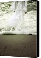Angelic Canvas Prints - Girl At The Sea Canvas Print by Joana Kruse