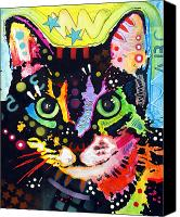 Kitty Canvas Prints - Maya Canvas Print by Dean Russo