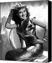 Long Gloves Canvas Prints - Paulette Goddard, Paramount Pictures Canvas Print by Everett