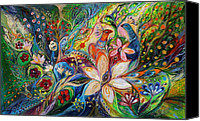 Signed Canvas Prints - The Magic Garden Canvas Print by Elena Kotliarker