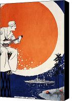 Star Man Canvas Prints - Vintage Hawaiian Art Canvas Print by Hawaiian Legacy Archive - Printscapes