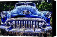 Photographers Atlanta Canvas Prints - 50s Buick Eight Canvas Print by Corky Willis Atlanta Photography