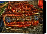 Photographers Atlanta Canvas Prints - 50s Ford Truck Canvas Print by Corky Willis Atlanta Photography
