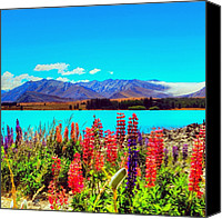 Relaxing Canvas Prints - Instagram Photo Canvas Print by Tommy Tjahjono