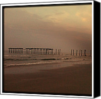 Street Canvas Prints - 59th Street OC NJ Canvas Print by Bill Cannon