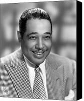 Hairstyle Canvas Prints - Duke Ellington (1899-1974) Canvas Print by Granger