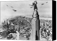 Empire Photo Canvas Prints - King Kong, 1933 Canvas Print by Granger
