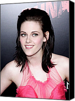 Kristen Stewart Canvas Prints - Kristen Stewart At Arrivals For The Canvas Print by Everett