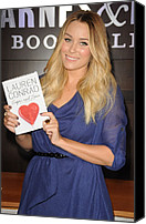 Appearance Canvas Prints - Lauren Conrad At In-store Appearance Canvas Print by Everett