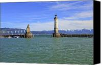Bavarian Canvas Prints - Lindau Canvas Print by Joana Kruse
