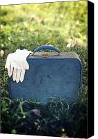 Glove Canvas Prints - Suitcase Canvas Print by Joana Kruse