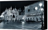 Byzantine Photo Canvas Prints - Venice Canvas Print by Joana Kruse