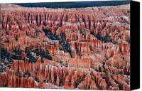 Thor Canvas Prints - Bryce Canyon Amphitheater Canvas Print by Pierre Leclerc