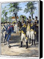 American Revolution Canvas Prints - COMTE de ROCHAMBEAU Canvas Print by Granger