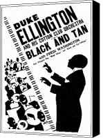 Harlem Canvas Prints - Duke Ellington (1899-1974) Canvas Print by Granger