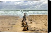 Sandy Beach Canvas Prints - Kampen - Sylt Canvas Print by Joana Kruse