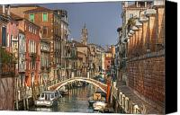 Venetian Canvas Prints - Venice - Italy Canvas Print by Joana Kruse